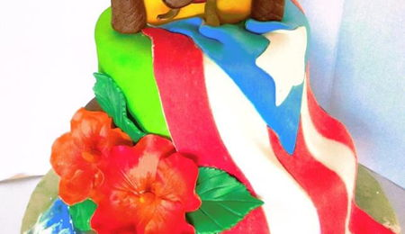 Marvelous Puerto Rico Cake Decorating Photos Funny Birthday Cards Online Inifodamsfinfo