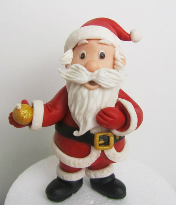 Santa Claus Out Of Fondant