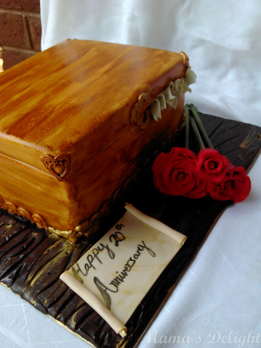 Anniversary memory box cakecentral