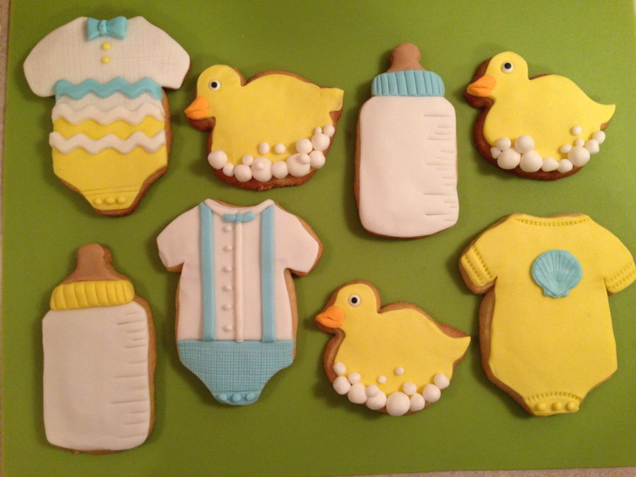 Baby Shower Cookies on Cake Central