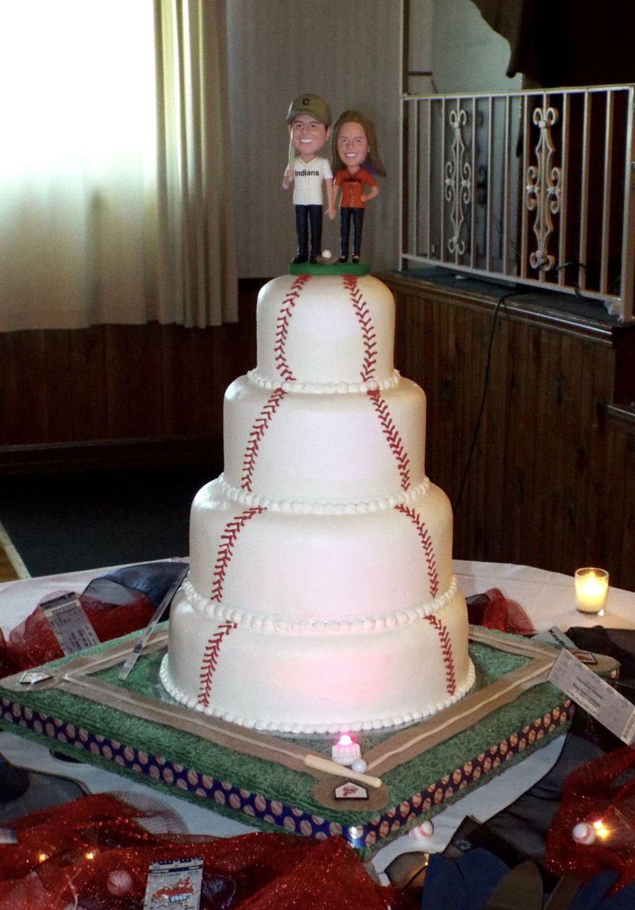 Baseball Wedding Cake Cakecentral Com