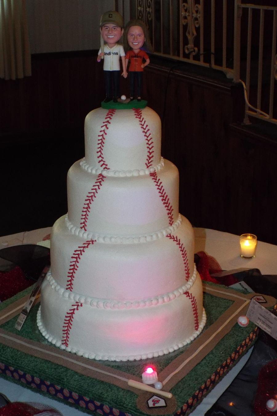 Baseball Wedding Cake Cakecentral Com