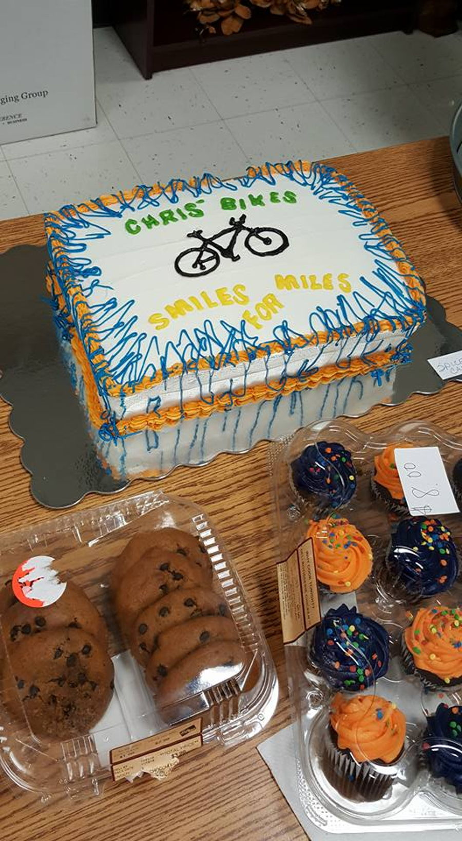 Bike Benefit Cake on Cake Central