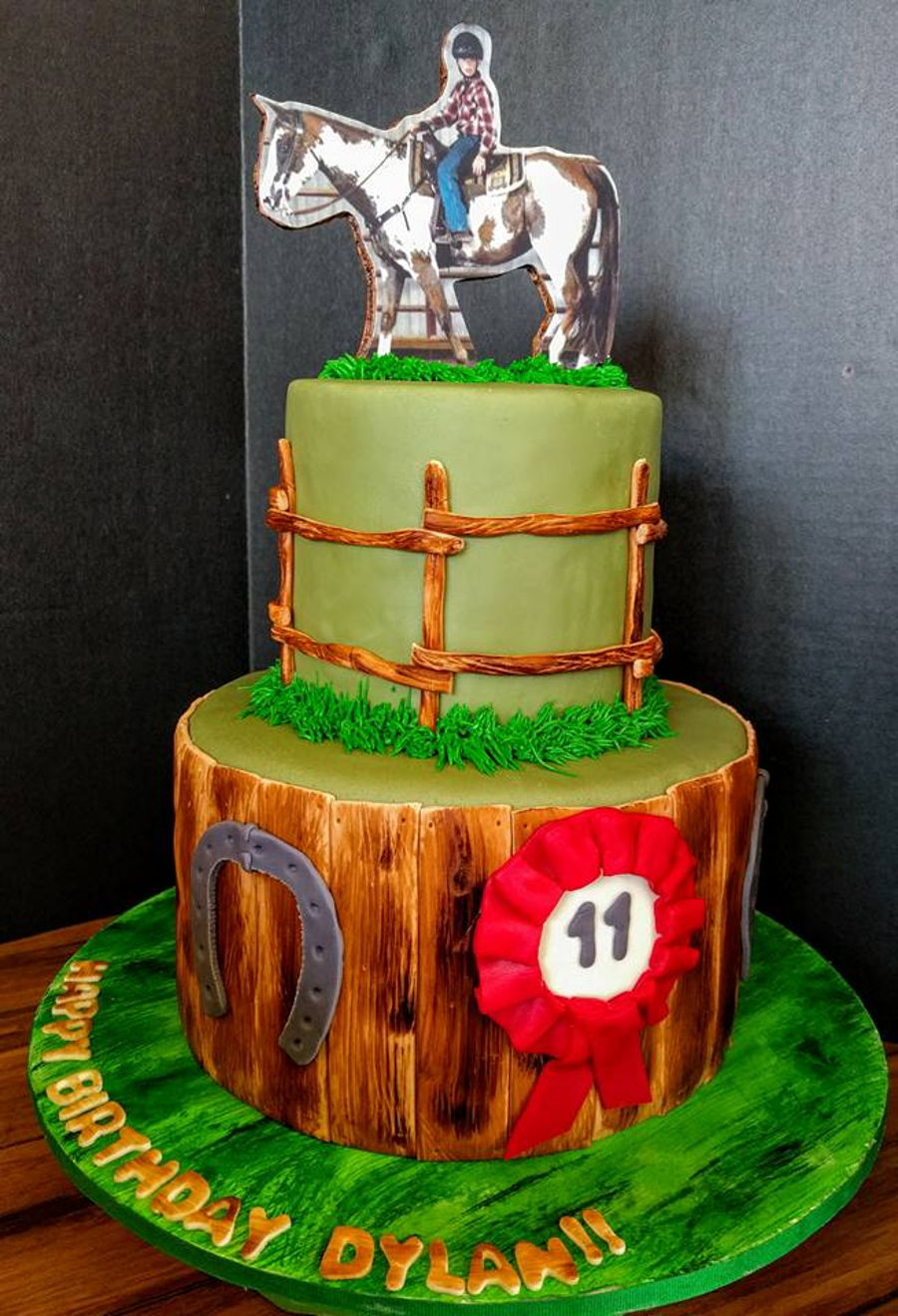 Boy And His Horse Cakecentral Com