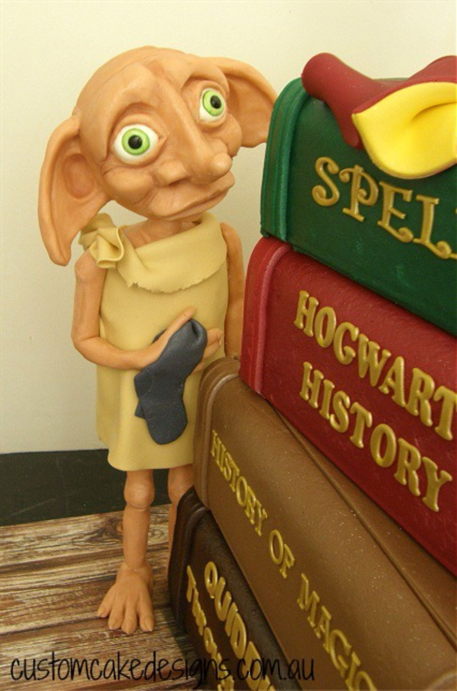 Dobby Figurine Modelling Chocolate Cakecentral Com