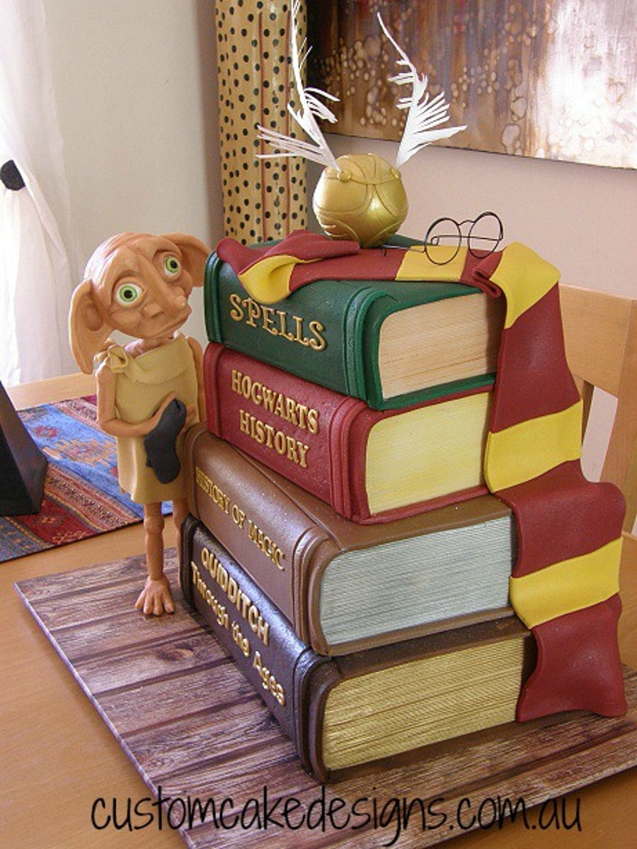 Dobby Harry Potter Cake Cakecentral Com