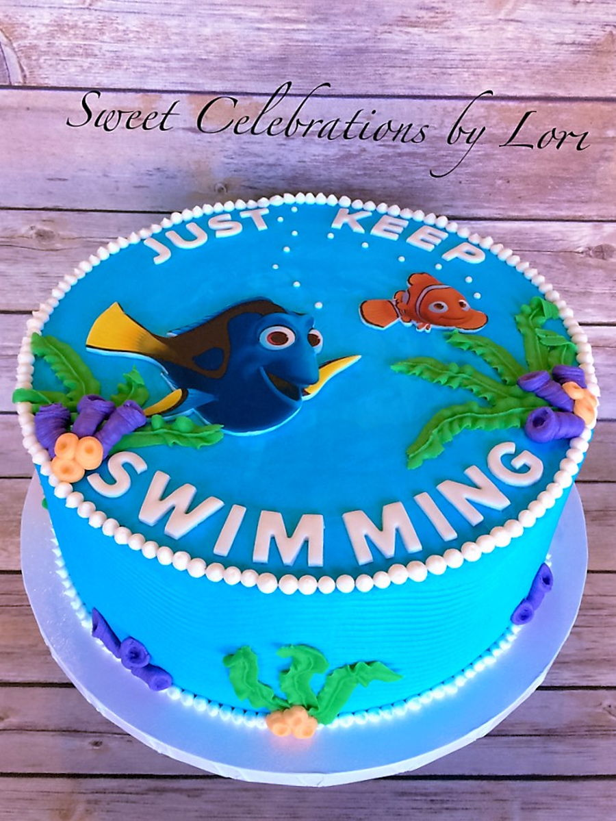 Finding Dory Birthday Cake Cakecentral Com
