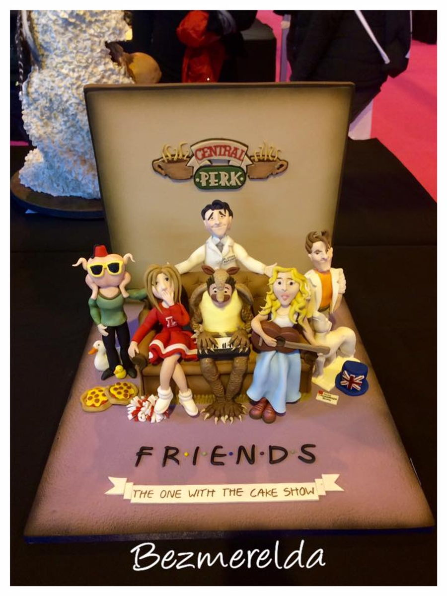 Friends Tv Show Cake Toppers