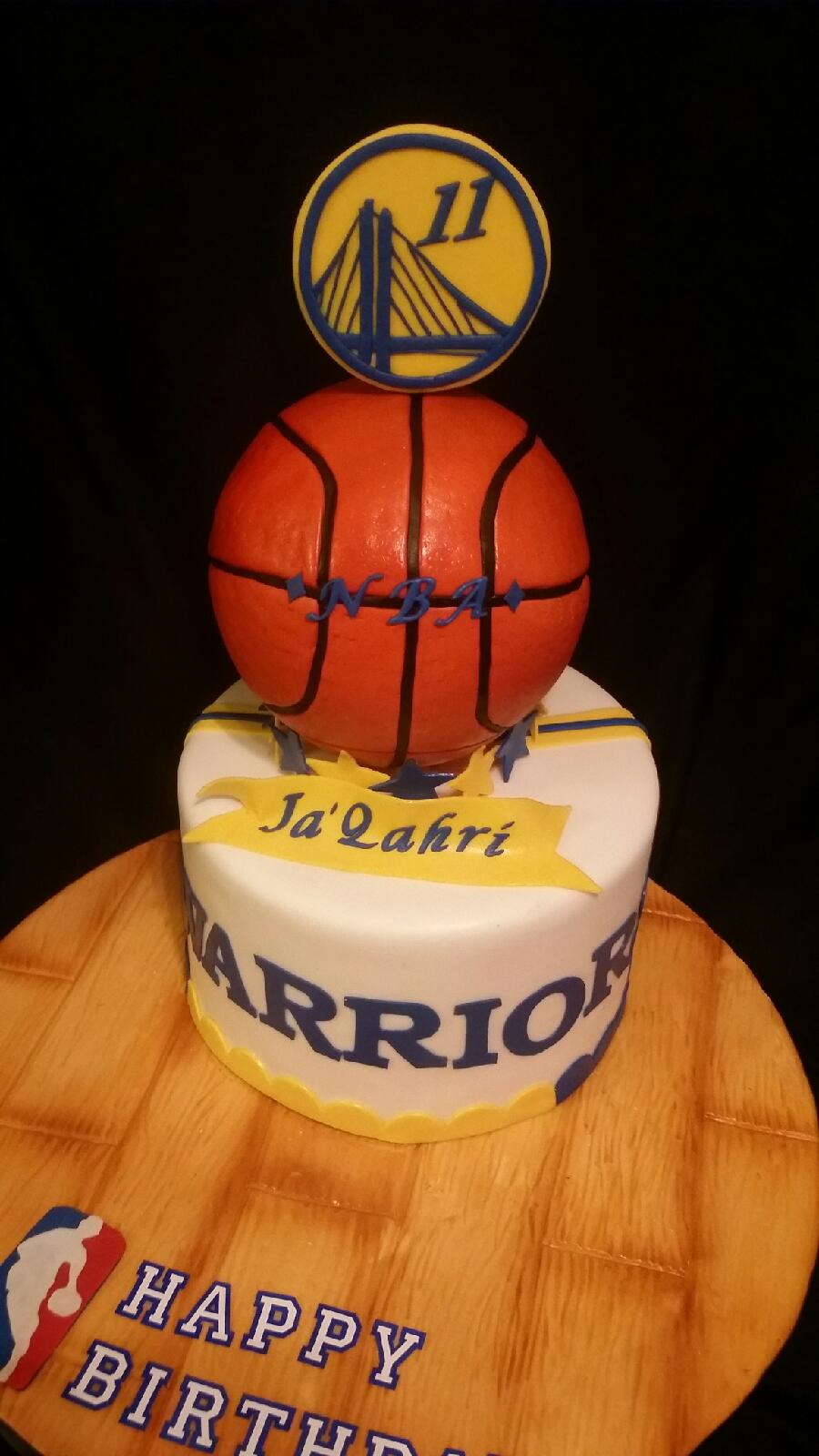 Golden State Nba Cake Cakecentral