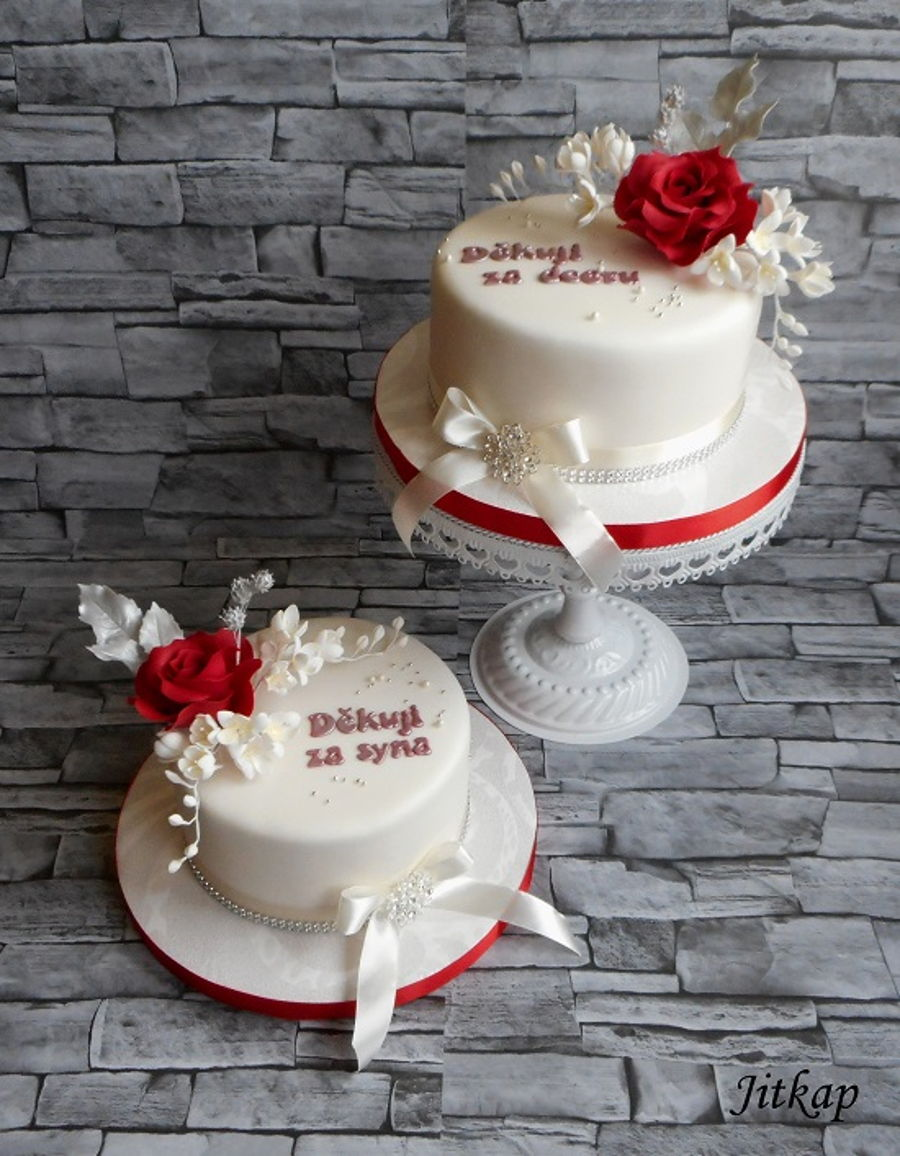 wedding cake set wedding cake cake set cakecentral 8746