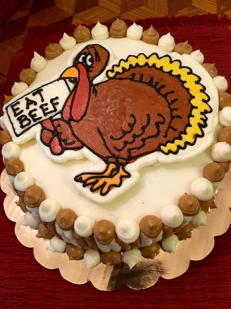 Thanksgiving Turkey Carrot Cake on Cake Central