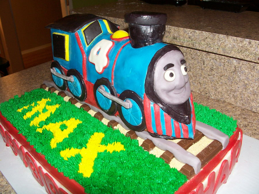 Thomas The Train Cake - CakeCentral.com