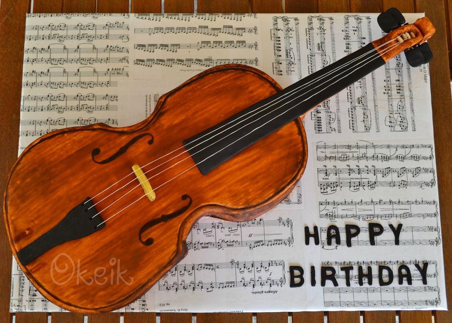 Violin Cake Cakecentral Com