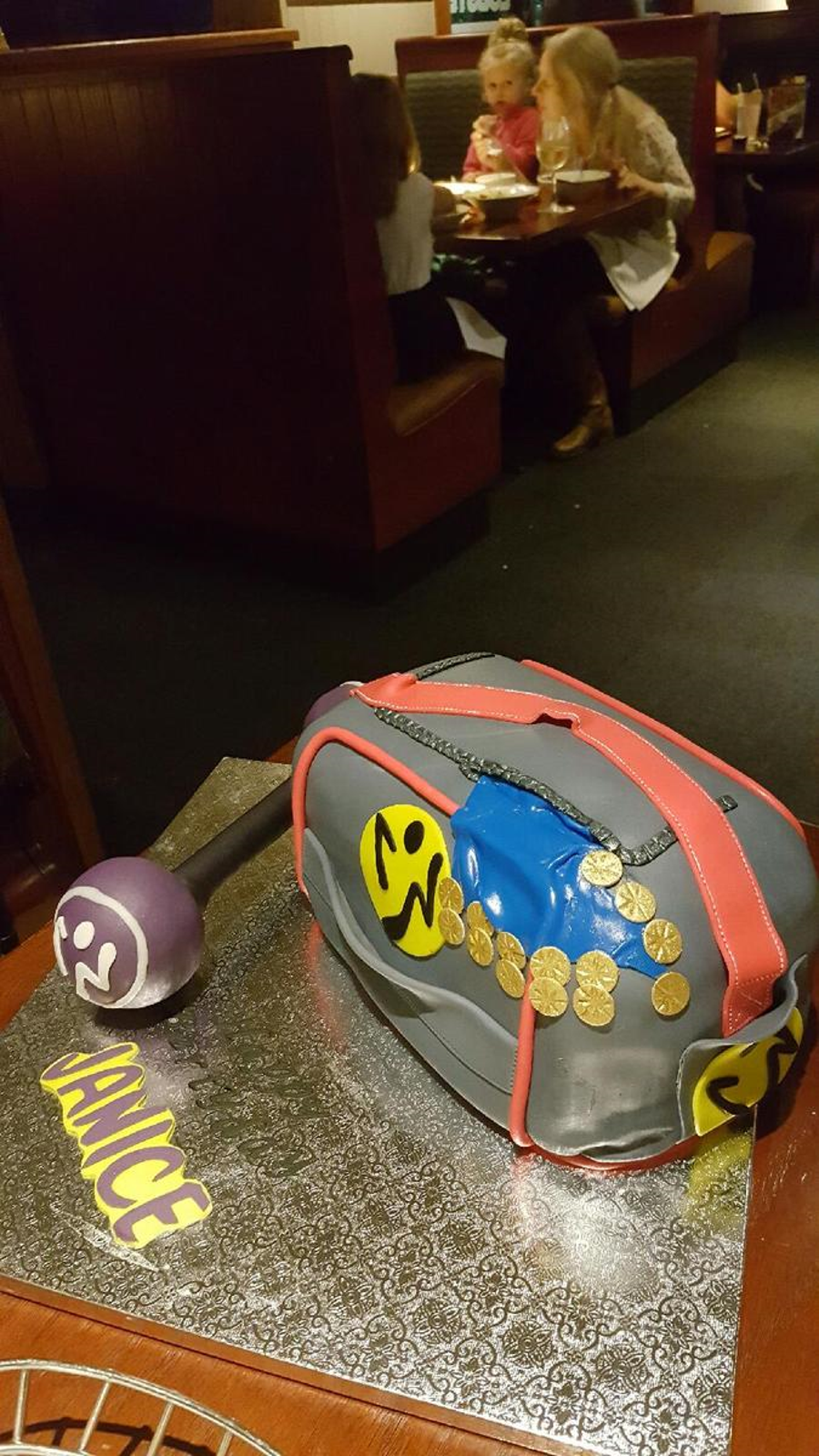Zumba Gym Bag Cake For My Aunt Thank Goodness It Was I Had A Little Trouble With This One But Everyone Loved SIGH