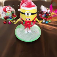 3D Santa Minion Cake Santa cake with structure