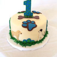 A Boy & His Animals A special set of cakes for a special boy and his pets. Ben's first birthday! A couple cakes I made during our move this summer.A...