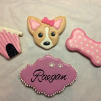 Chihuahua's & Everything Pink Custom sugar cookies