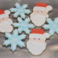 Christmas Cookies For my son to give to his teachers and friends at school.