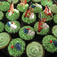 Cricket   Last minute cupcakes