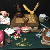 Harry Potter Fan Alessia birthday cake