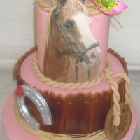 Horse Cake For the 10-year-old girl who loves horses