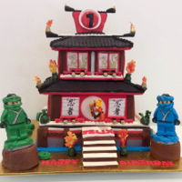 Lego Ninjago Cake I made this cake for a lovely little boy on behalf of Cake Angels Australia, a wonderful organisation that helps sick children. Felix LOVES...