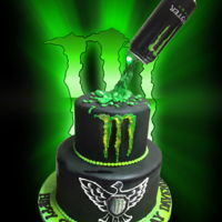 Monster Energy   Monster Energy Drink Birthday Cake