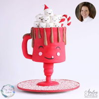 Mrs Hot Chocolate This is a cake I created for Avalon Yarnes online cake school! To discover how to create, go here: https://avaloncakesschool.com/mrs-hot-...