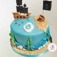 Pirate Cake   Pirate cake for friends pirate/mermaid party