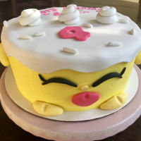 Shopkins Cake Buttercream shopkins cake for a 4th birthday