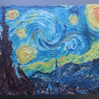 Starry Night Starry Night birthday.