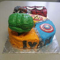 Super Heroes 5 yr super hero birthday