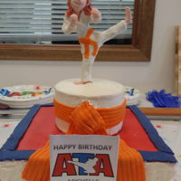 Taekwondo Birthday Taekwondo orange belt birthday.