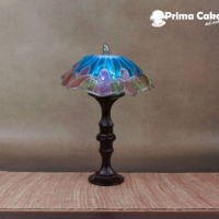 Tiffany Lamp - Simi Torch Team: The Collaboration I had the honor of being invited to the Simi collaboration. For this collaboraiton artists had to incorpotate Simi Isomalt into their piece...