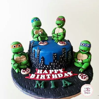 Ninja Turtles Cake   Teenage mutant ninja turtles