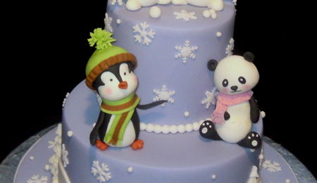 Children's Winter Cake