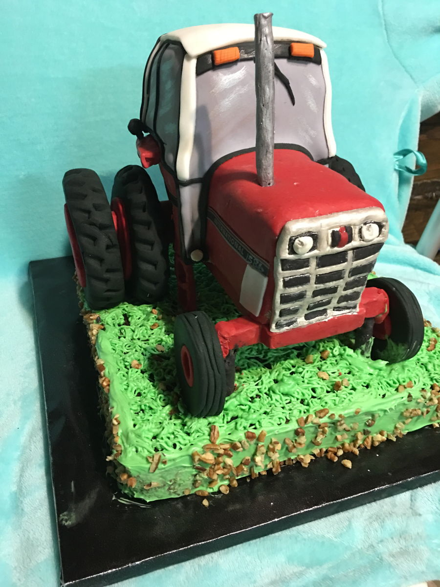 D 1586 International Wiring Diagram 3d Red Tractor Cakecentralcom