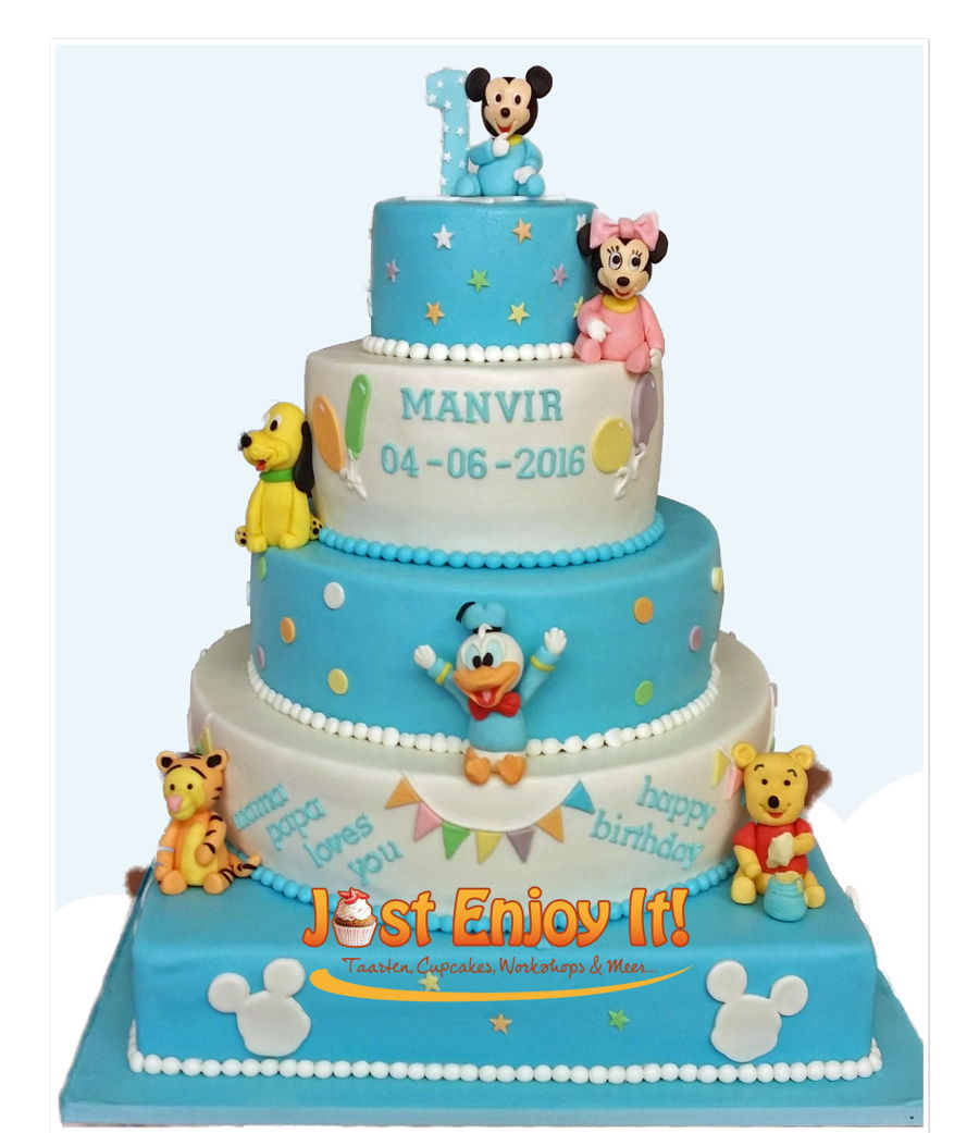 Terrific Baby Disney Cake Cakecentral Com Personalised Birthday Cards Rectzonderlifede