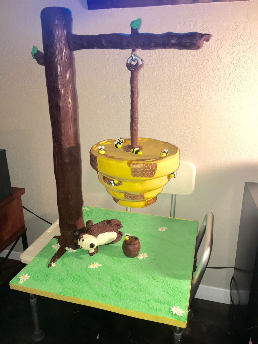 Hanging Beehive Cake Cakecentral Com