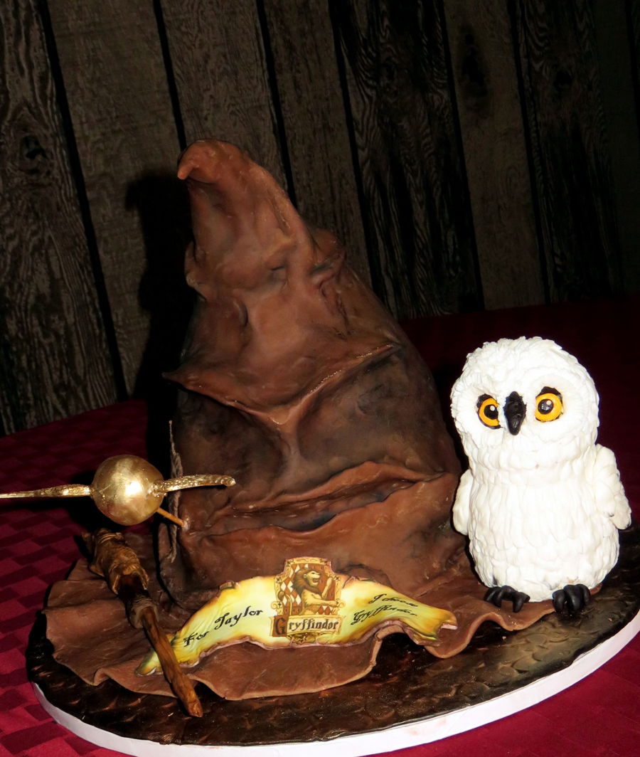 Jarry Potter Cake Recipe