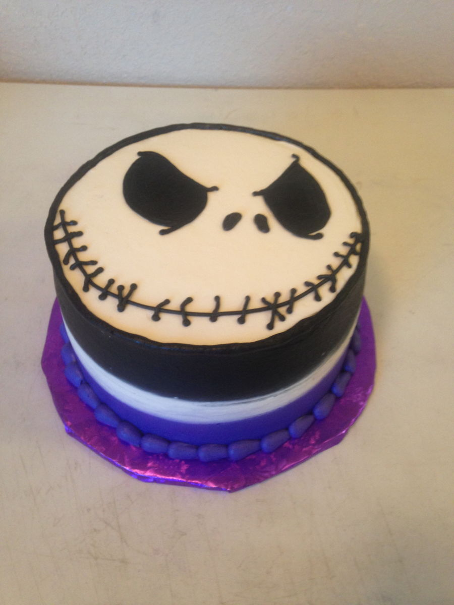Jack Skellington Cake Recipe