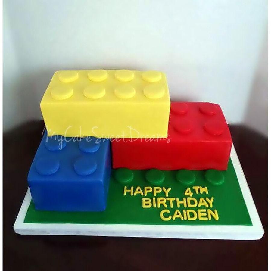 Lego Police Birthday Cake