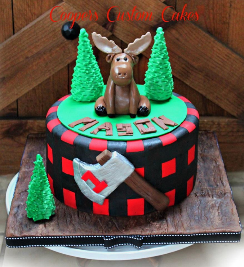 Lumberjack Moose Cake Cakecentral