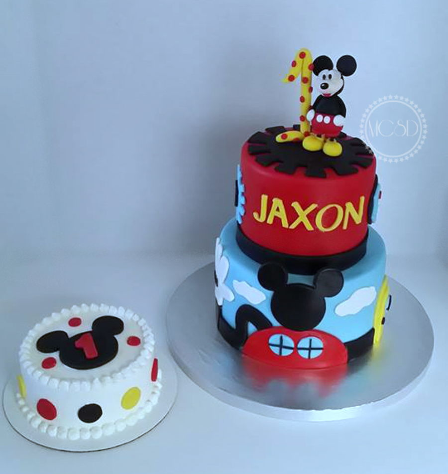 Mickey Mouse Cake  Tier