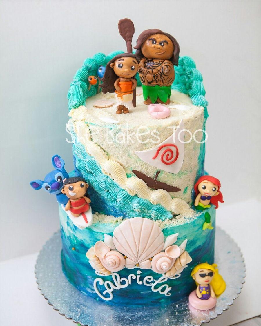 Cake Design Moana : Moana And Company - CakeCentral.com