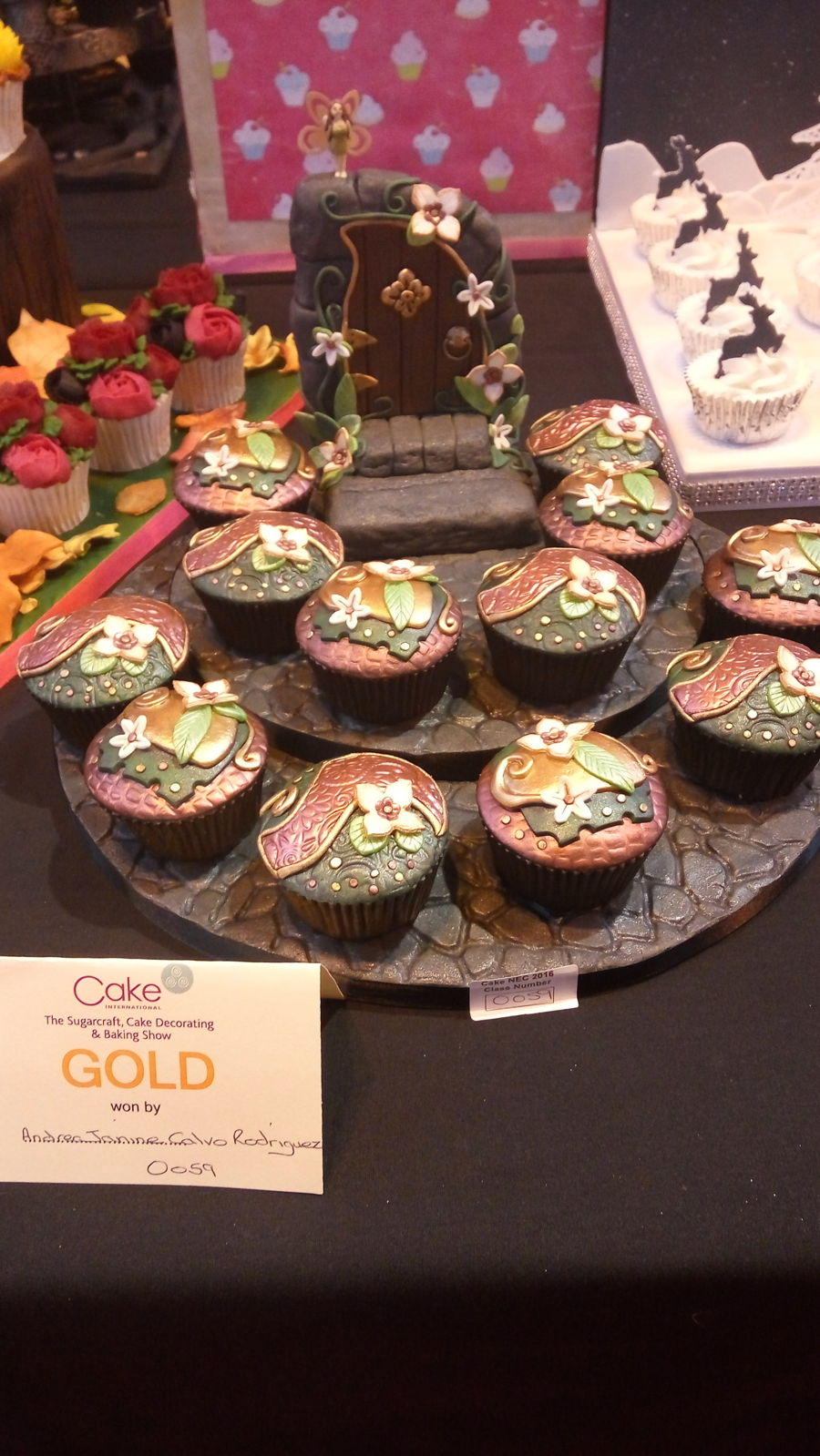 My Cupcakes At Cake International 2016 on Cake Central