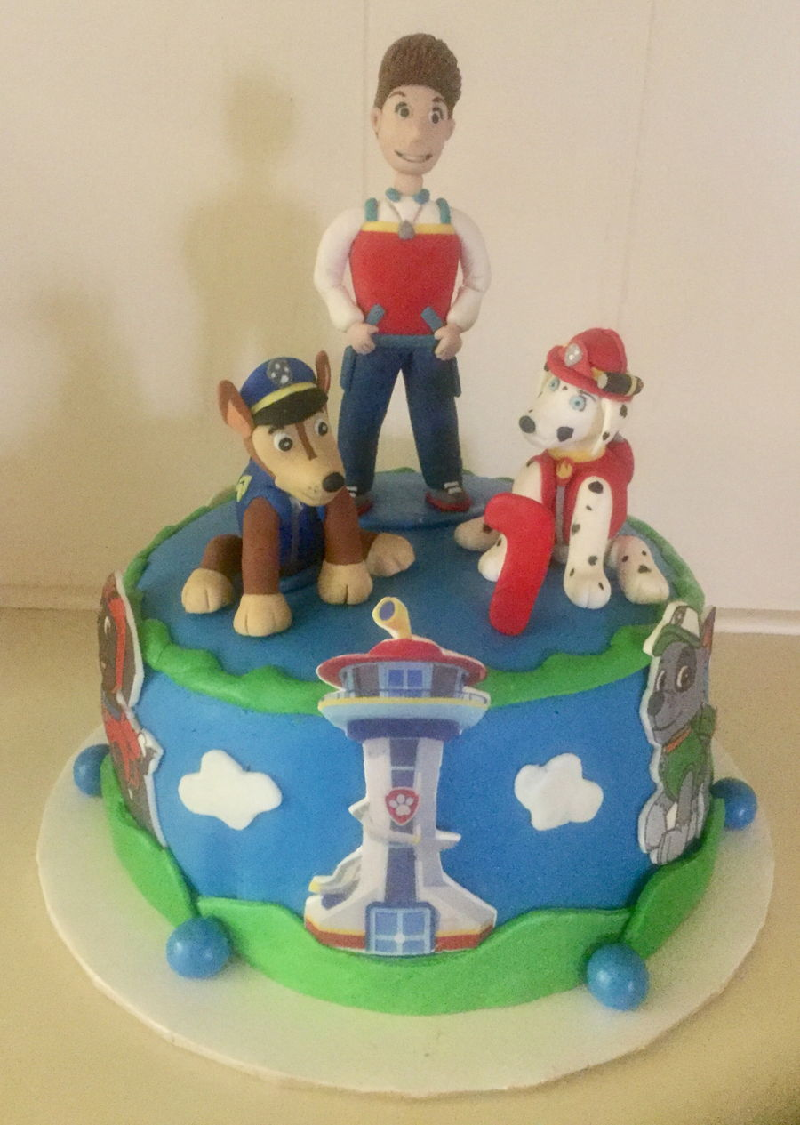 Cake Central Edible Images : Paw Patrol Cake - CakeCentral.com