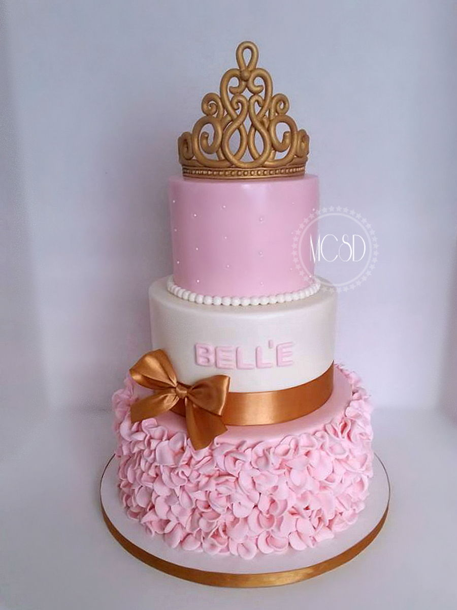princess baby shower cake on cake central