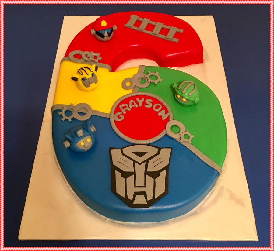 Rescue Bots Birthday Cakecentral Com