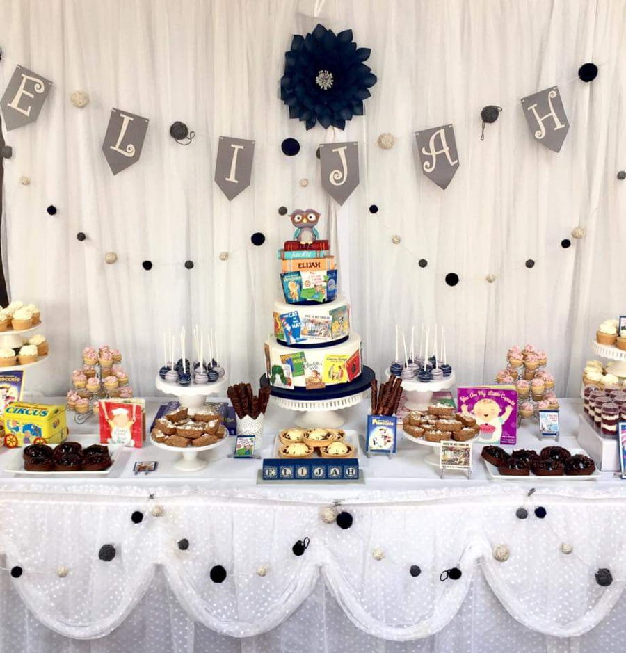 Storybook Baby Shower Sweet Table Cakecentral